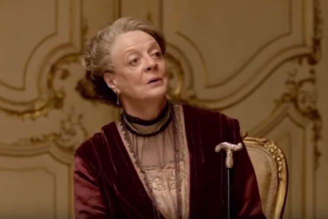 Maggie Smith's Best One-Liners from Downton Abbey