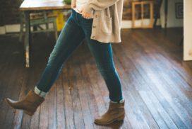boots-cardigan-denim